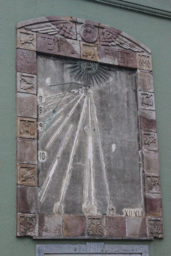 Reloj de Sol, Fotografía Maritza Cartín
