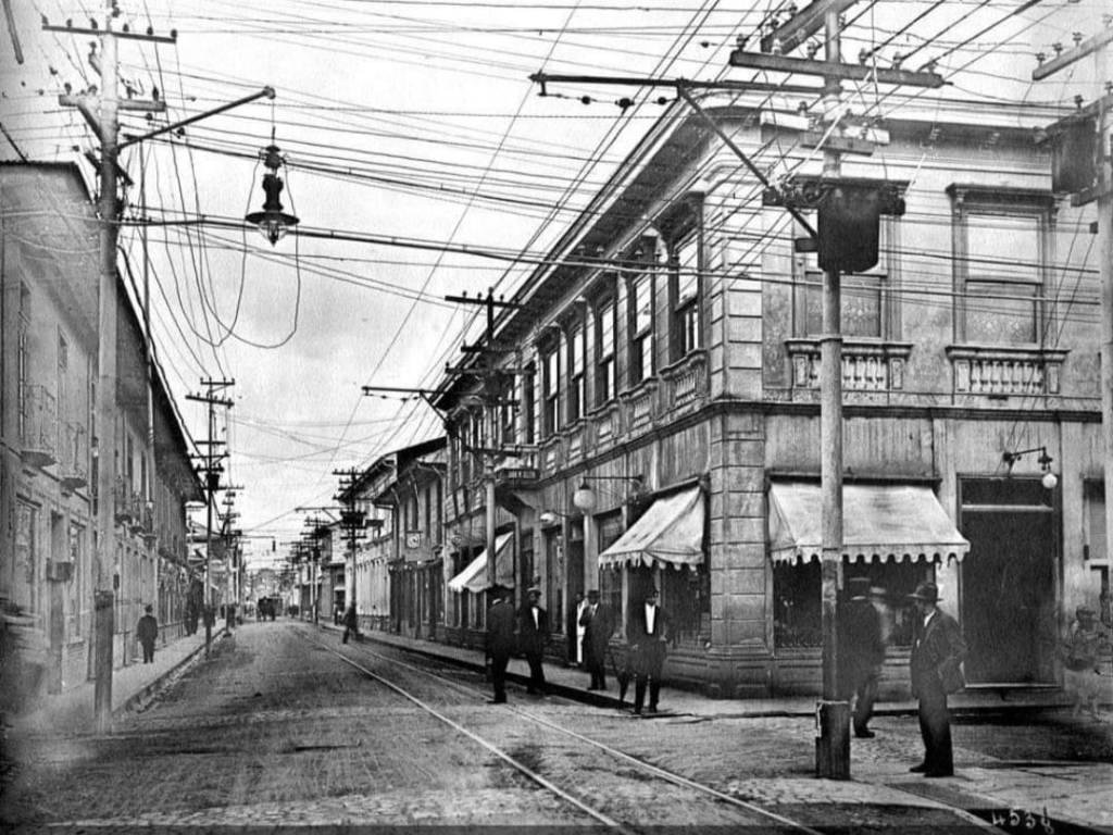 1916-Vista hacia el Este. Jorge Salazar