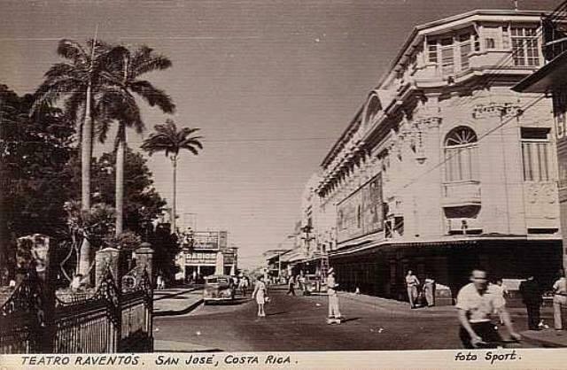 Teatro Raventos/Melico Salazar, San José, 1901-1950.   Mi Costa Rica de  Antaño
