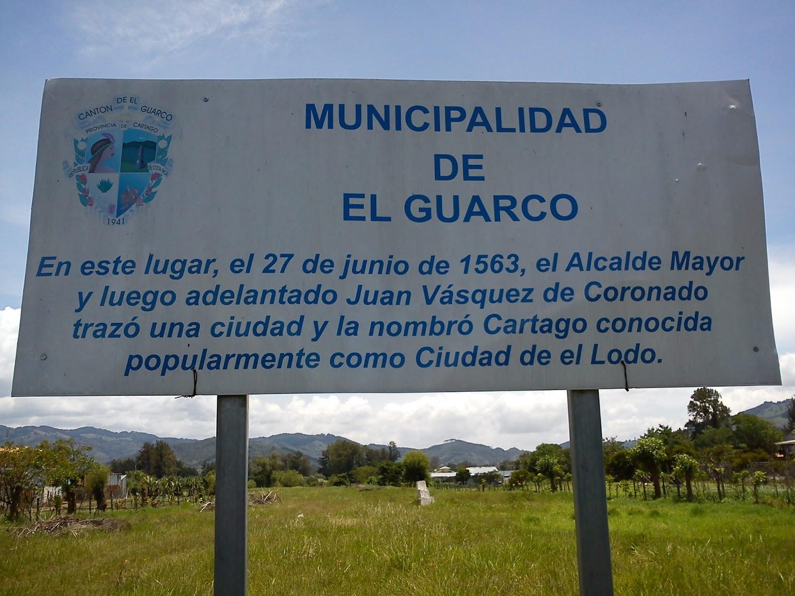 Resultado de imagen de CIUDAD DEL LODO, EL TEJAR, EL GUARCO, CARTAGO